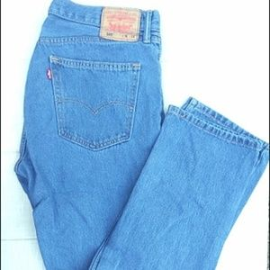 Levi's 505 jeans size 36 x 34